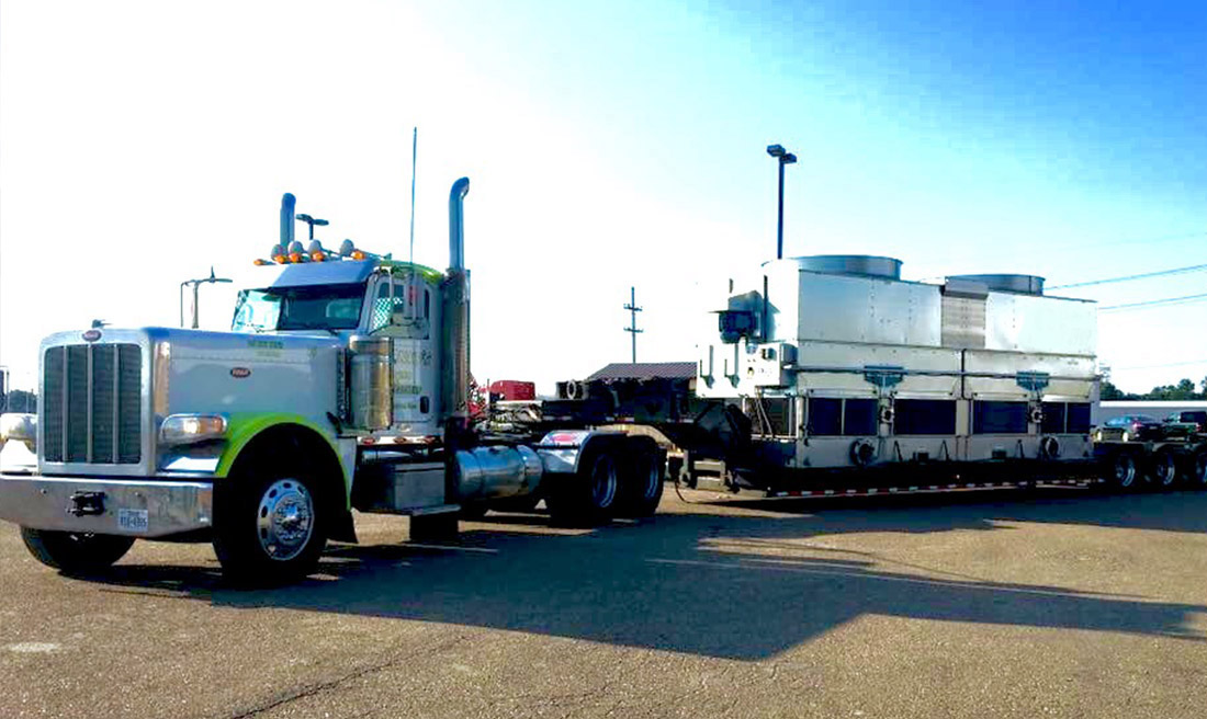 heavy equipment transport services beaumont, tx